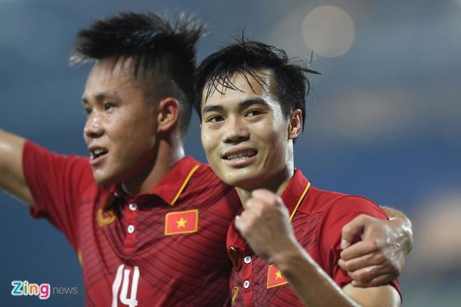 U22 VN vs Ngoi sao K.League (1-0): Van Toan ghi ban hinh anh 1