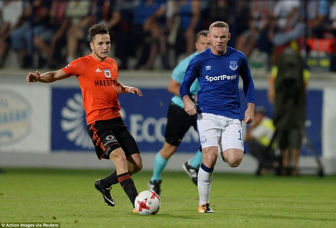 Rooney cung Everton vao vong play-off Europa League hinh anh 6