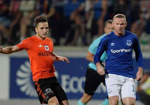 Rooney cung Everton vao vong play-off Europa League hinh anh