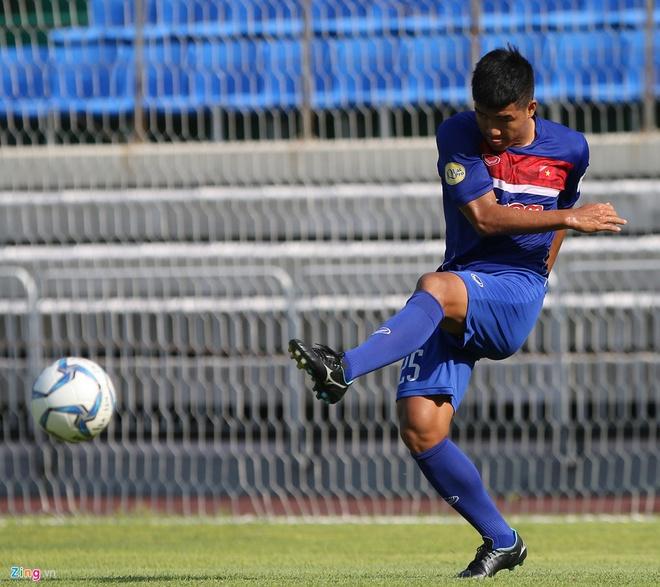 Mokpo vs U22 VN (1-4): Hong Duy, Duc Chinh lap cu dup hinh anh 11