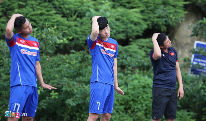 Mokpo vs U22 VN (1-4): Hong Duy, Duc Chinh lap cu dup hinh anh 4