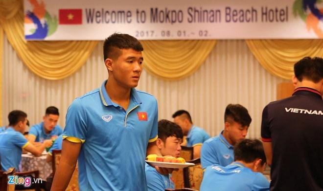 Mokpo vs U22 VN (1-4): Hong Duy, Duc Chinh lap cu dup hinh anh 6