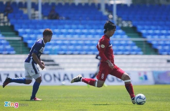 Mokpo vs U22 VN (1-4): Hong Duy, Duc Chinh lap cu dup hinh anh 17