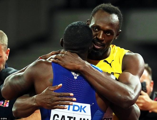 Usain Bolt that bai o chung ket 100 m giai vo dich the gioi hinh anh