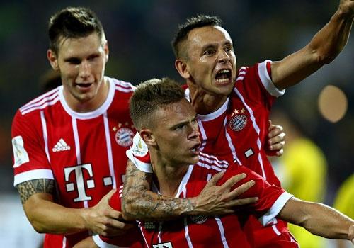 Highlights Bayern Munich 2-2 Dortmund (penalty, 5-4) hinh anh
