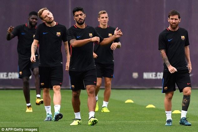 Messi cang thang truoc luot ve sieu cup Tay Ban Nha hinh anh 2
