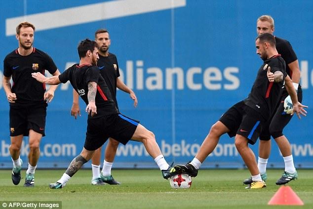 Messi cang thang truoc luot ve sieu cup Tay Ban Nha hinh anh 3