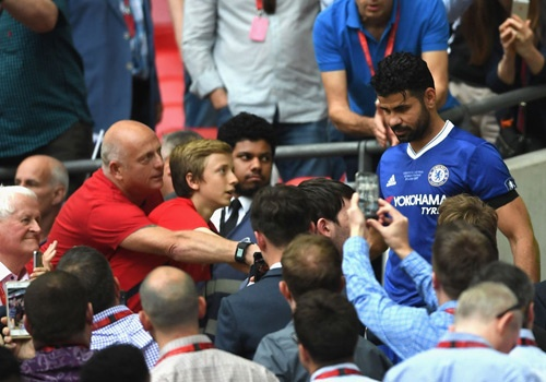 Chelsea loai Costa khoi danh sach du Champions League hinh anh