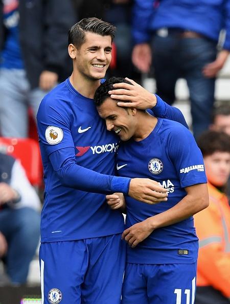 Stoke vs Chelsea (0-4): Morata lap hat-trick, solo ghi ban hinh anh 20