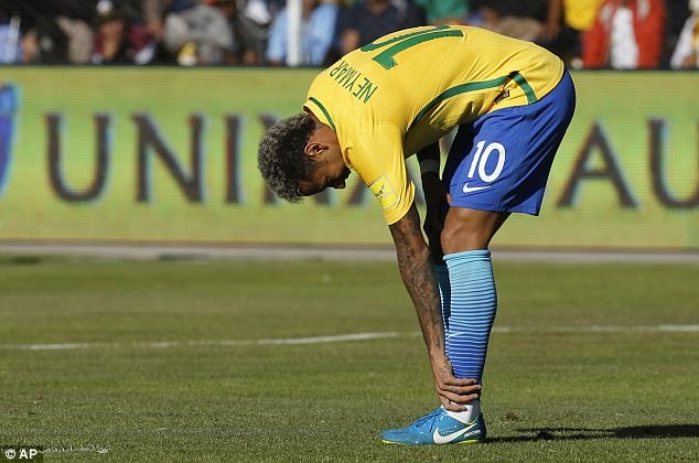 Neymar dut diem te trong tran Brazil doi dau Bolivia hinh anh 3
