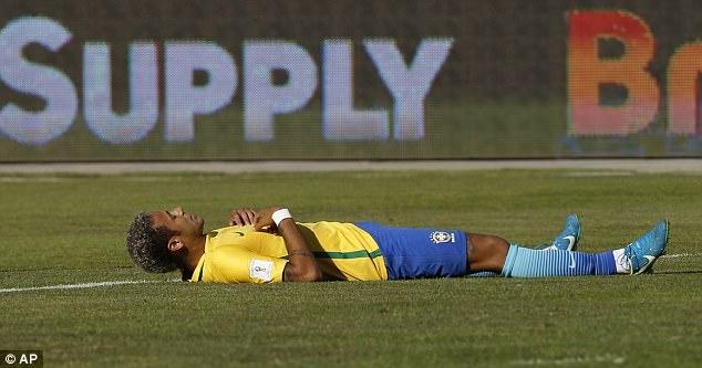 Neymar dut diem te trong tran Brazil doi dau Bolivia hinh anh 5