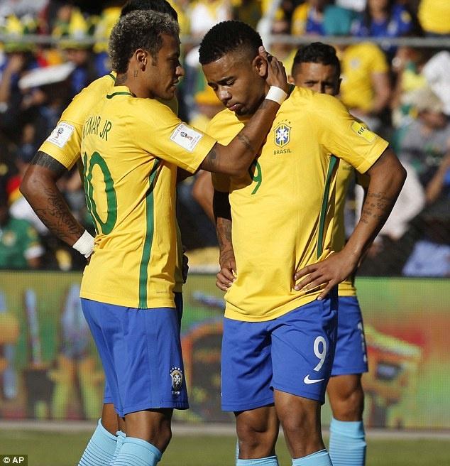 Neymar dut diem te trong tran Brazil doi dau Bolivia hinh anh 9