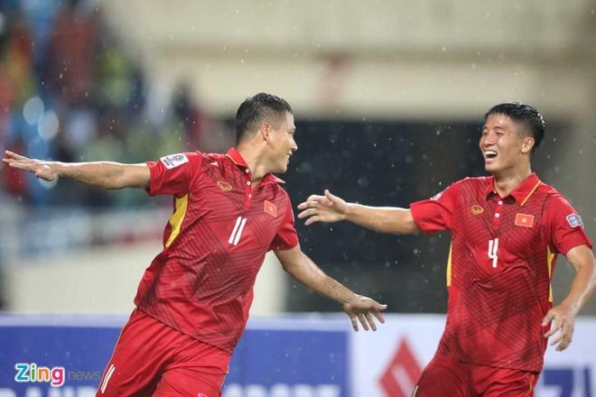 DTVN danh bai Campuchia 5-0 anh 1