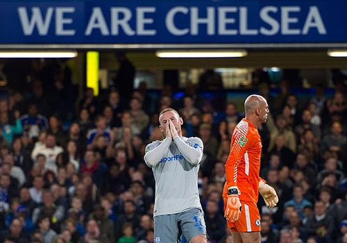 Rooney om mat tiec nuoi khi Everton thua Chelsea 1-2 o League Cup hinh anh