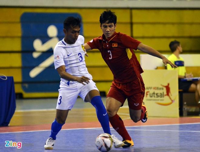DT futsal VN thua soc Malaysia 1-5 o ban ket Dong Nam A hinh anh 18
