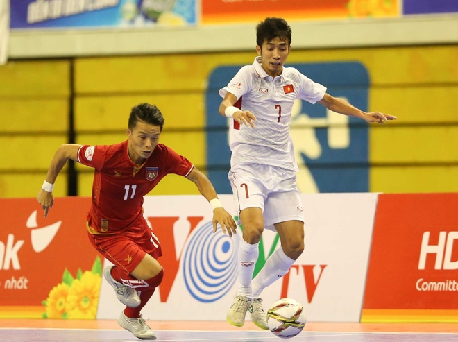 DT futsal VN thua soc Malaysia 1-5 o ban ket Dong Nam A hinh anh 2