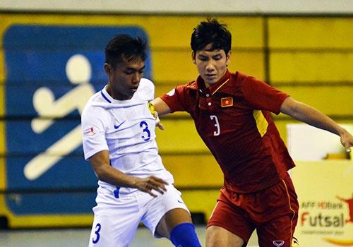 DT futsal VN thua soc Malaysia 1-5 o ban ket Dong Nam A hinh anh