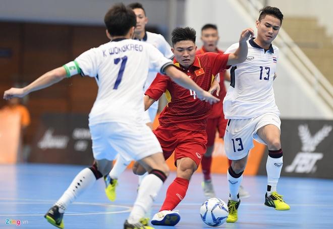 DT futsal VN thua soc Malaysia 1-5 o ban ket Dong Nam A hinh anh 8