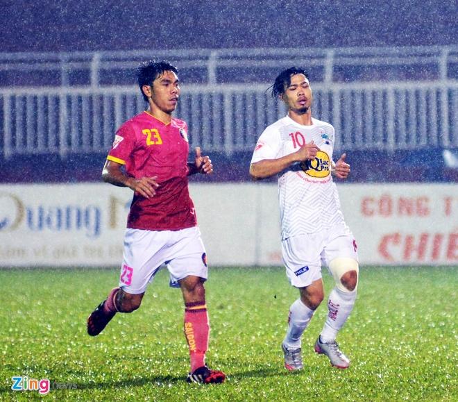 HAGL thang CLB Sai Gon 2-1, CLB Long An chinh thuc xuong hang hinh anh 21