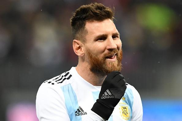 Messi bat luc, Argentina van thang chu nha World Cup 2018 hinh anh