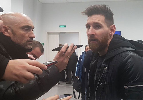 Messi som chia tay DT Argentina, tro lai Barca hinh anh