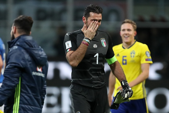 Buffon that vong, giai nghe sau that bai cua DT Italy hinh anh 1