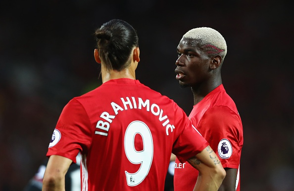Mourinho khen Pogba dang cap, xuc dong khi Ibra tro lai hinh anh