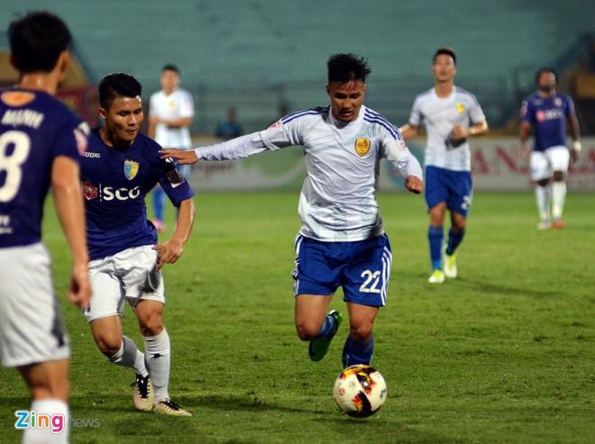 Bau Hien cuoi hanh phuc khi CLB Ha Noi thang doi Quang Nam 1-0 hinh anh 22