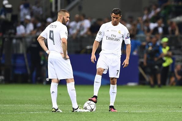 Ronaldo va Benzema te nhat chau Au anh 1