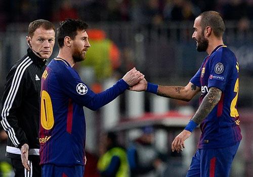 Barca thang Sporting 2-0, keo dai mach bat bai mua nay hinh anh