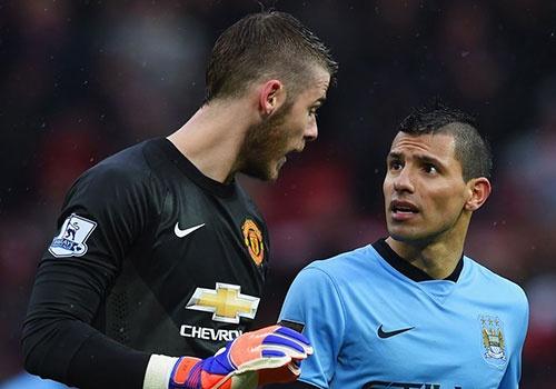 Doi hinh derby Manchester: MU co De Gea, Man City tu hao hang cong hinh anh