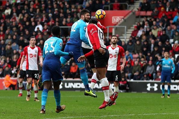 Southampton vs Arsenal (1-1): Giroud danh dau cuu 'Phao thu' hinh anh 27