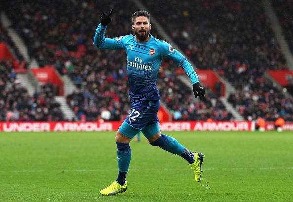 Southampton vs Arsenal (1-1): Giroud danh dau cuu 'Phao thu' hinh anh 1