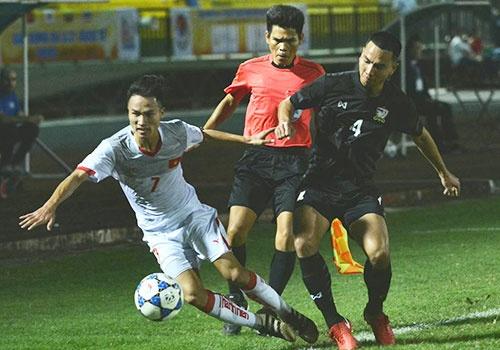 U21 VN thua Thai Lan 0-1 ngay tran ra quan giai U21 quoc te hinh anh