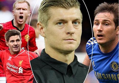 Paul Scholes dang cap hon Lampard va Gerrard hinh anh