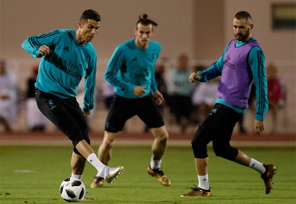 Ronaldo: 'That la vui khi da cung Bale va Benzema' hinh anh 1