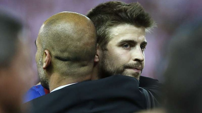 Pique muon gap Man City tranh cup Champions League hinh anh 1