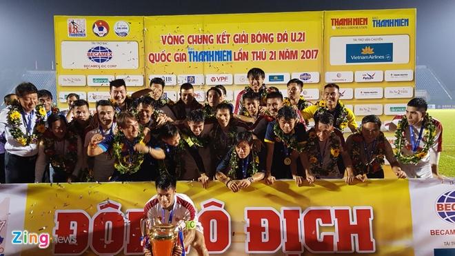 Tran U19 VN vs U21 Thai Lan anh 12