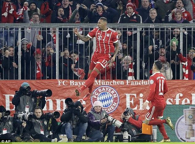 Bayern danh bai Dortmund 2-1, vao tu ket cup quoc gia Duc hinh anh 1