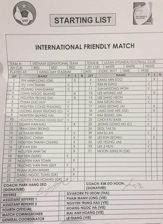 Tran U23 Viet Nam vs CLB Ulsan anh 7