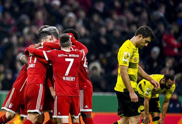 Bayern danh bai Dortmund 2-1, vao tu ket cup quoc gia Duc hinh anh 4