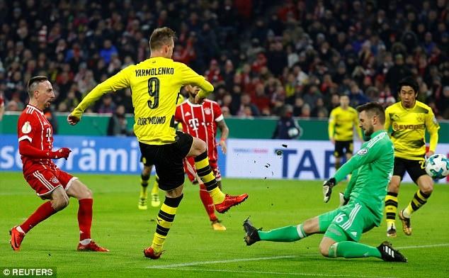 Bayern danh bai Dortmund 2-1, vao tu ket cup quoc gia Duc hinh anh 6