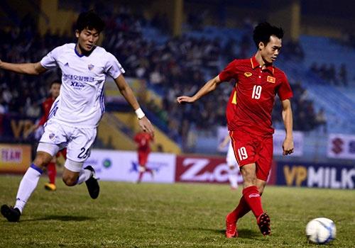 U23 Viet Nam thua doi bong cua Han Quoc 2-3 o phut bu gio hinh anh