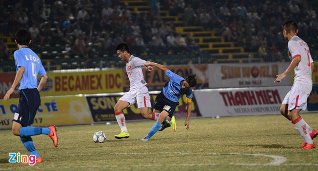 Tran U21 Viet Nam vs U21 Yokohama anh 16