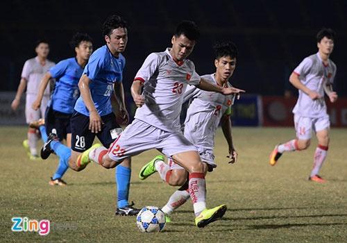 Thang U21 VN 2-0, doi bong Nhat Ban bao ve chuc vo dich U21 quoc te hinh anh 17