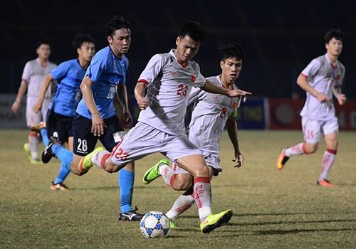 Thang U21 VN 2-0, doi bong Nhat Ban bao ve chuc vo dich U21 quoc te hinh anh