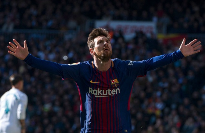 Messi danh hon 83% thoi gian di bo o El Clasico hinh anh 1