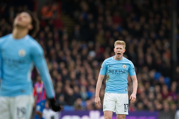 Crystal Palace 0-0 Man City: Doi cua Guardiola thoat thua o phut 90+2 hinh anh 26