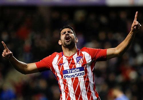 Can 6 phut ngay lan dau tro lai, Diego Costa ghi ban cho Atletico hinh anh