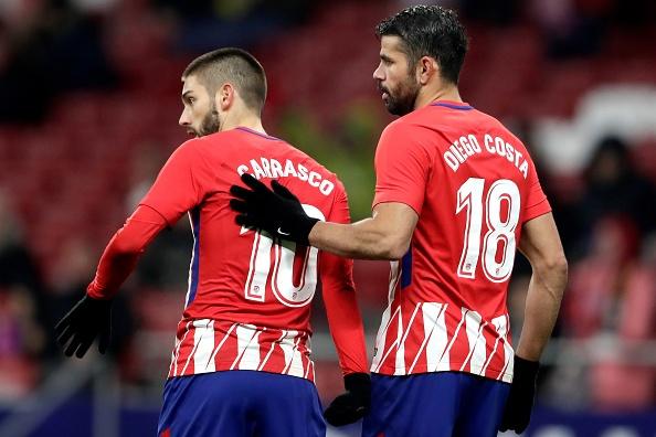 Diego Costa kien tao, Atletico thang 3-0 o cup nha vua Tay Ban Nha hinh anh 5